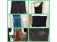 assorted clothing- dresses, skirt and jumper
