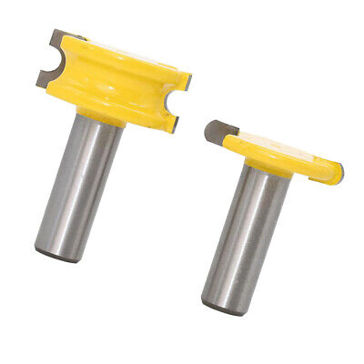 2pcs Canoe Flute And Bead Router Bit Wood Cutter Woodworking Tool 12.7mm