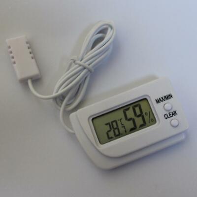 Digitale Temperatur und Luftfeuchtigkeitsmessgerät Schildkröte Bruteier ()
