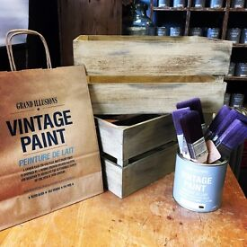 Chalk Paint Workshops , learn to paint like a professional