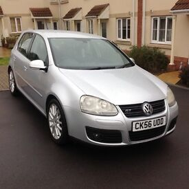 2006/56 Volkswagen Golf 2.0 gt tdi with full service history