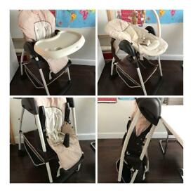 Hauck Sit'n Relax Highchair (cost £159.99 when new)