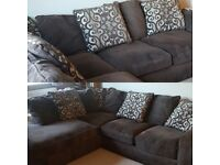 FOR SALE. Large corner sofa with bed