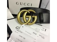 Women's Gucci brand new boxed marmont GG leather belt APOOT UNWORN 80cm