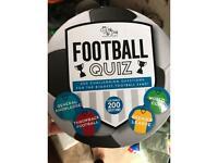 Football quiz game brand new