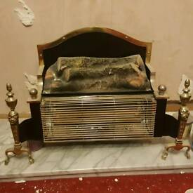 Retro Fireplace