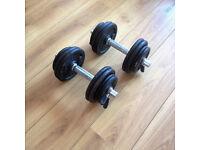 28kg Dumbbells - Decathlon