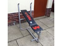 Weider flat/incline bench
