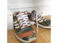 Adidas Torsion Tropical Sneakers