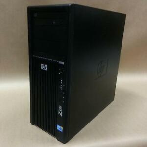 HP Z-200 Workstation - Dual Core i5-650 3.2Ghz / 4 GB RAM / 160 GB Drive + Free Shipping!