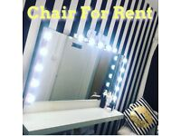 Chair for rent in Beauty Bar