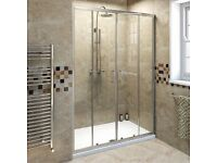 1400 glass shower door