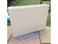 Double panel radiator 80 x 60