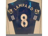 Signed Frank Lampard Chelsea Shirt - **Certificate of Authenticity**