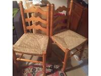 Pair of Two Kitchen Chairs
