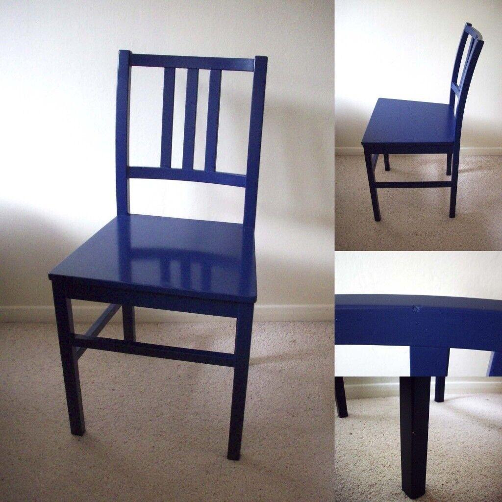 HABITAT Blue Boyu0027s Bedroom Room Study Desk Office Dining Designer Conran Chair £35 & HABITAT Blue Boyu0027s Bedroom Room Study Desk Office Dining ...
