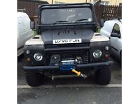 Defender 90 Land Rover off road ready 4x4