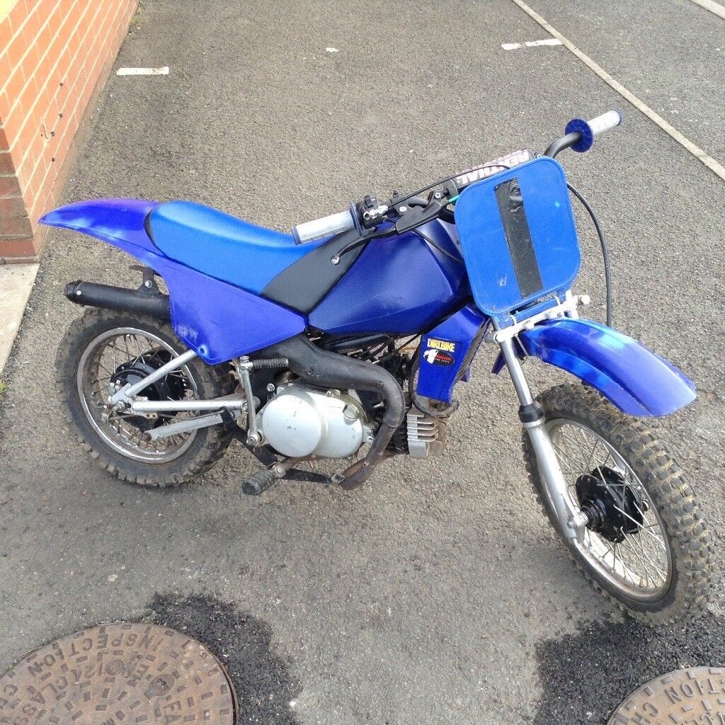 2stroke py 80 all works how it shud nothing wrong with it