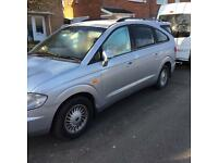 Ssangyong rodius 7 seater auto diesel