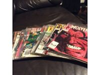 78 Wolverine Comics in excellent condition, issue numbers available on request