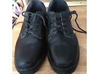 Site Coal Black Safety Shoes size 8