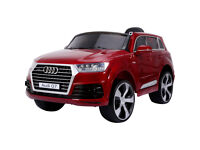 Audi Q7 Licensed Children's 12V Ride-On Electric Jeep - Red