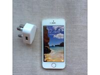 Unlocked 16GB iphone 5S in white