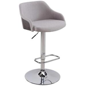 Grey Gas Lift Stool Sale-WO 7625 (BD-2543)