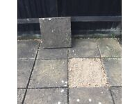 "72+ Paving Slabs 18""x18"" Stone Colour - FREE"