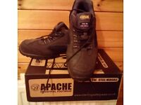 Apache steel toecap Safety trainers (UK size 11).