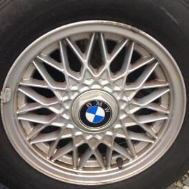 BMW alloy wheels &good tyres