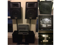 Band/DJ Pa System , Excellent condition