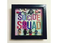 Harley Quinn / Joker Brick Box Design Frames