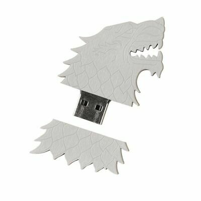 Game of Thrones 4GB USB Flash Drive House Stark Sigil Direwolf HBO Series New for sale  Shipping to Nigeria