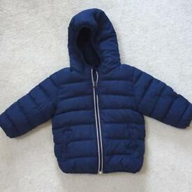Next boys puffer winter jacket : 1.5 - 2 years