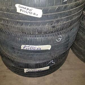 Two tires size 225 55 18 for sale