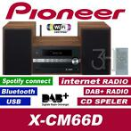 Pioneer stereoset DAB+ digitale radio CD USB WiFi Spotify