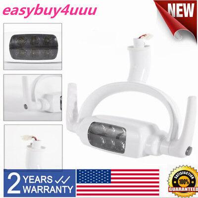 6 Led Lens Dental Oral Lamp Led Light For Dental Chair Unit 12v 6000k Usa Stock