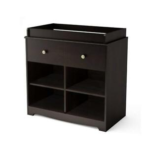 NEW South Shore Furniture South Shore Little Teddy's Changing Table, Espresso