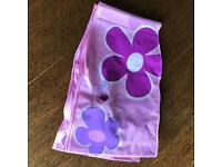 3 x Pink flower swimming armbands