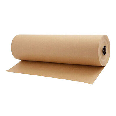 30meters Brown Kraft Parcel Paper Roll For Packing And Wrapping Parcel 30cm