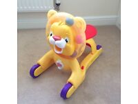 Bright stars 3in1 step and ride lion