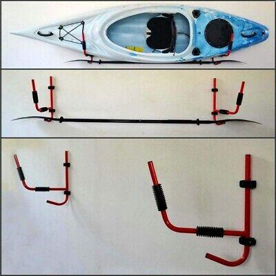 Kayak Storage Rack Hanger Supporter Carrier Surfboard Holder Wall Bracket 2PCS