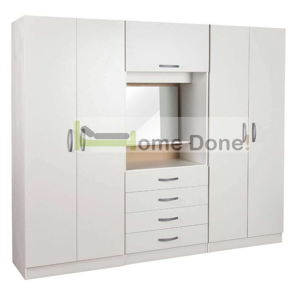 14 day money back guarantee 4 door assembled for Dressing table cabinet