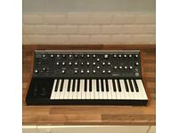 Moog Sub 37 Tribute Edition Synthesiser with Moog flight case