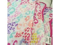 Two quilted bedspreads