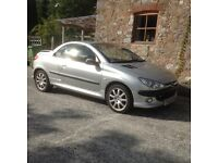 Peugeot 206 Cabriolet 2l for sale £1000 or O.N.O