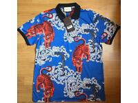 Men's Gucci tiger polo. Size Large