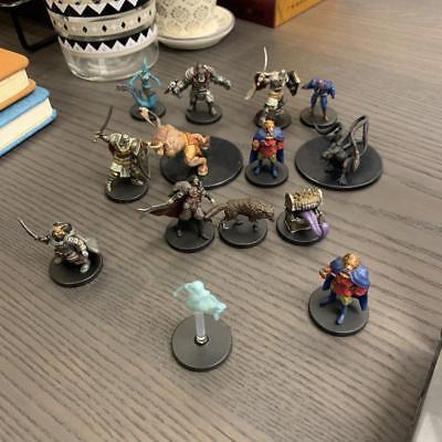 Lot 4 NO DOUBLES Dungeons & Dragons D&D miniatures FIGURES
