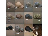 Gucci GG Canvas Baseball hats limited edition